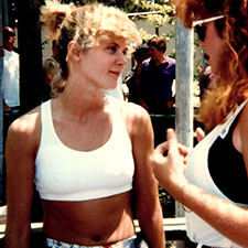 Ginger Lynn and Alexis Vogel