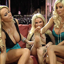 Nikki Benz, Diamond Fox, and Puma Swede