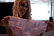 Syren Sexton and her pink underwear